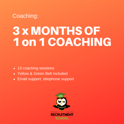 3 Months of Recruitment Coaching