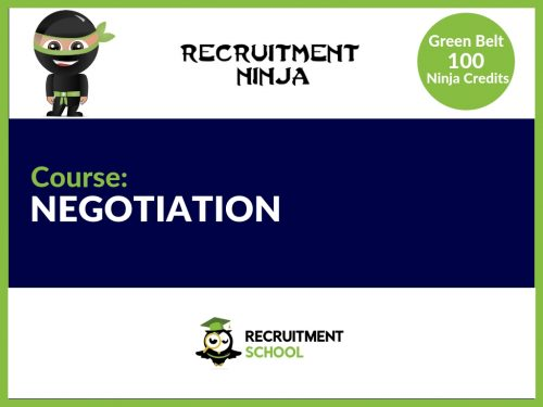 How to negotiate in Recruitment
