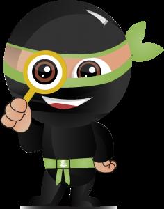 Green belt ninja_magnifying glass_01