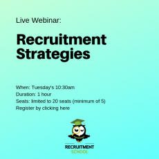 Build a Recruitment Strategy Live Webinar